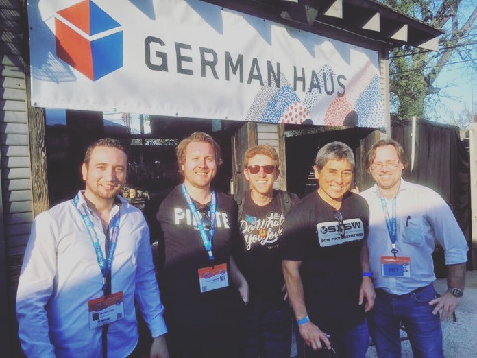 Hanging with the legend Guy Kawasaki at the German Haus @ SXSW 2016