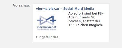 Neue Formate für Facebook Werbeanzeigen