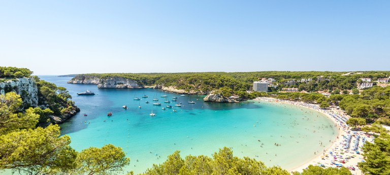 Why beach holidays in Menorca are perfect for young families