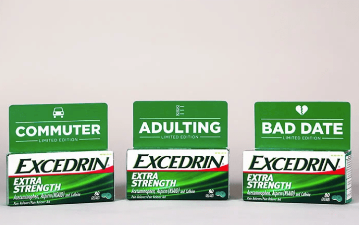 VIth Sense: Excedrin Packages a Cure for Your Bad Day at Work