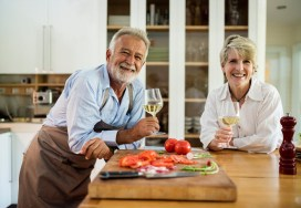 Canva - Man and Woman Holding Wine Glasses
