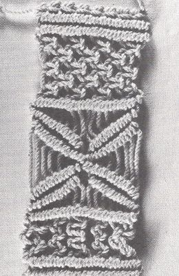 cotton macrame material