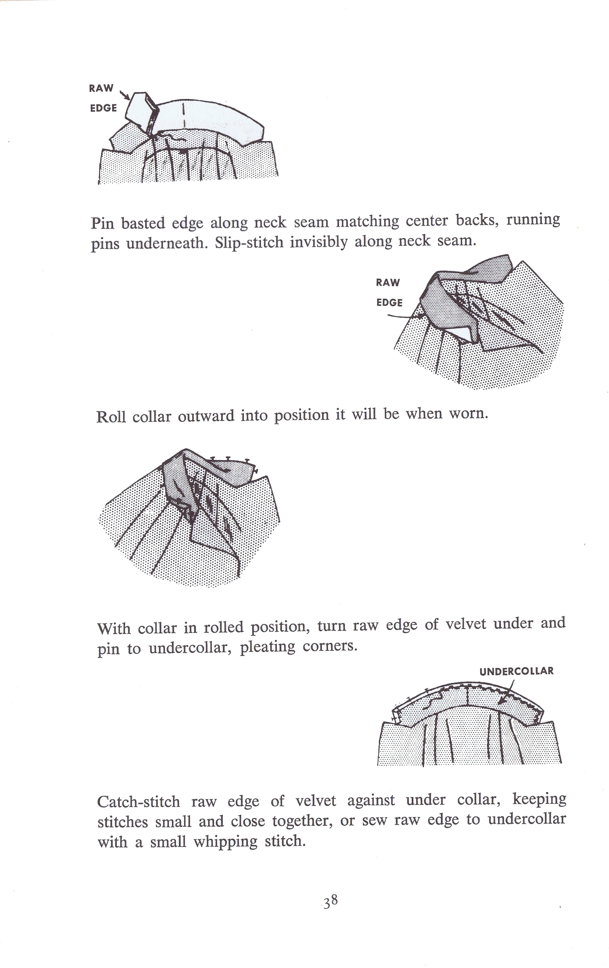how to tie a slip knot chair sash rose gold satin uk designer sewing tips tailors  vintage patterns