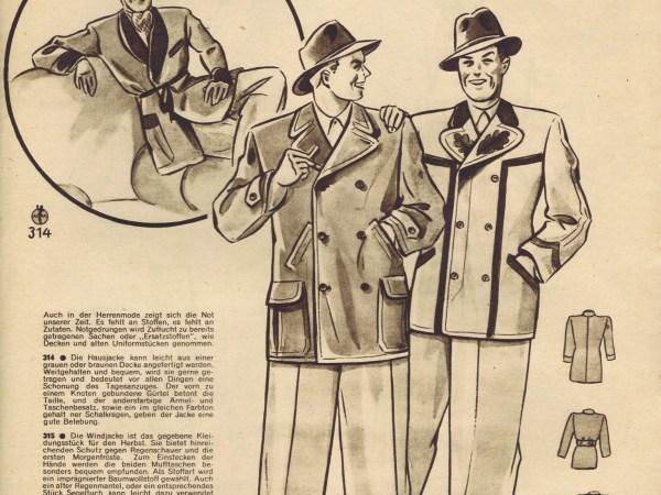 FREE Vintage 1940s Sewing Patterns German Die Alma Mode