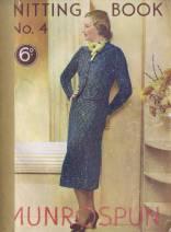 Munrospun Vintage Knitting Book Free
