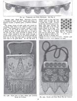 Necklace | Crystal Hand Bag | Handbag on Canvas