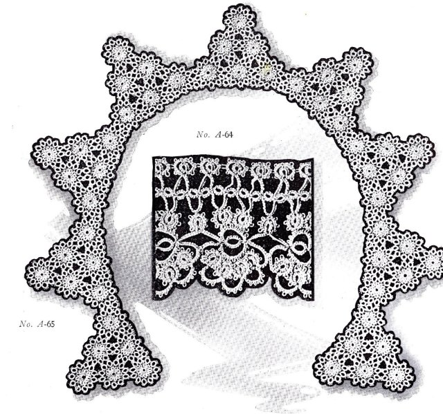 vintage tatting pattern tatted taating patterns