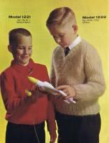 boys knitting pattern turtleneck pullover v neck