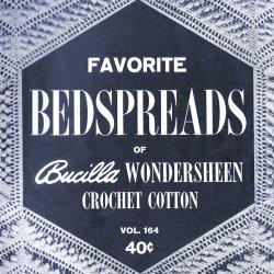vintage 1930s bedspread coverlet pattern
