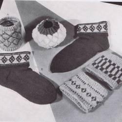 Block pattern sock top patterns