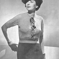 Knitted Travel Blouse Pattern