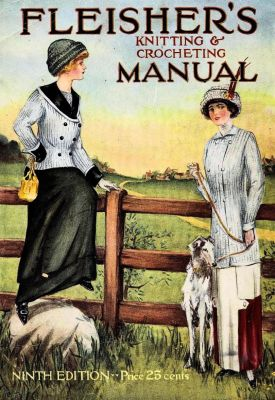 9 Fleisher's Knitting and Crochet Manual featured