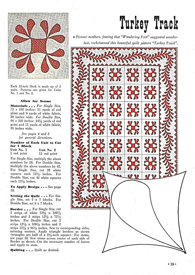 22 SC Quilts Turkey Track