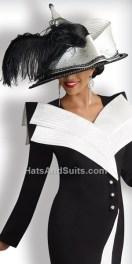 Donna Vinci Couture Church Hat H1341