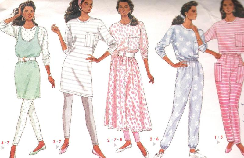 4471 Butterick Sewing Pattern Dress Leggings Pants Skirt Size 12 to 16