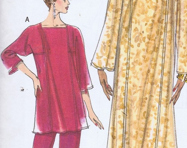 7335 easy Vogue caftan