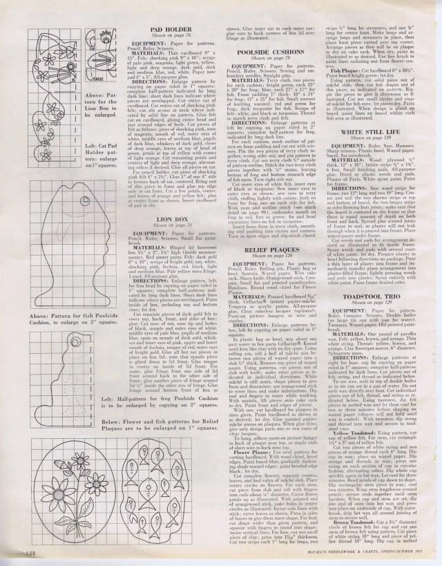 McCalls Needlework Spr Sum 1971 158