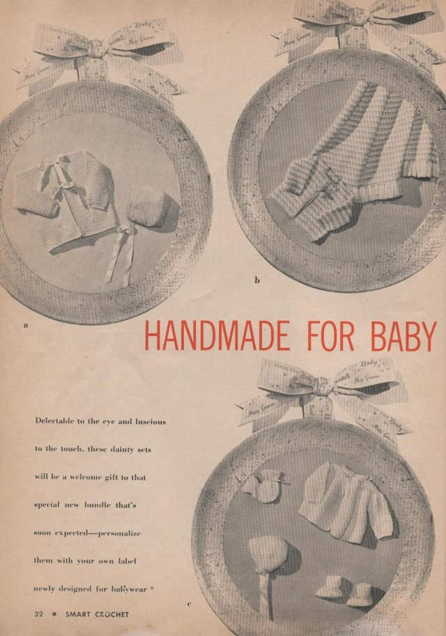 handmade for baby vintage patterns