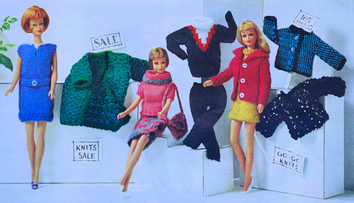 Free Vintage Fashion Doll Wardrobe Patterns Learn Knitting
