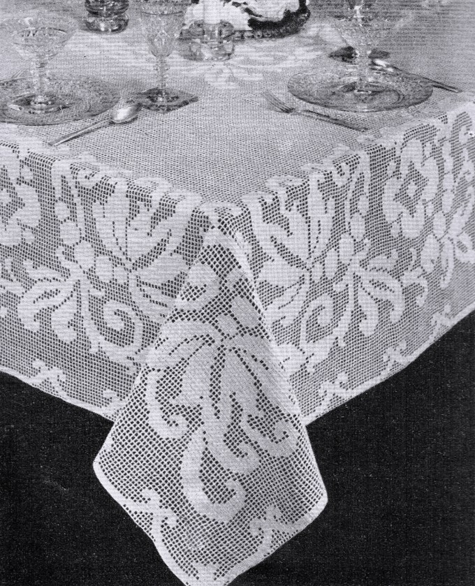 Crochet Tablecloth Patterns Microfinanceindia