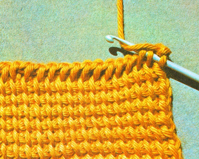 Decreasing one stitch at the right-hand edge