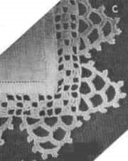 Silver Bell Hanky Edging pattern