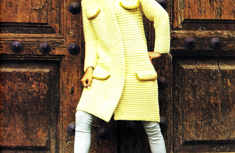 Free Vintage Knitted 2 Piece Couture Dress Pattern