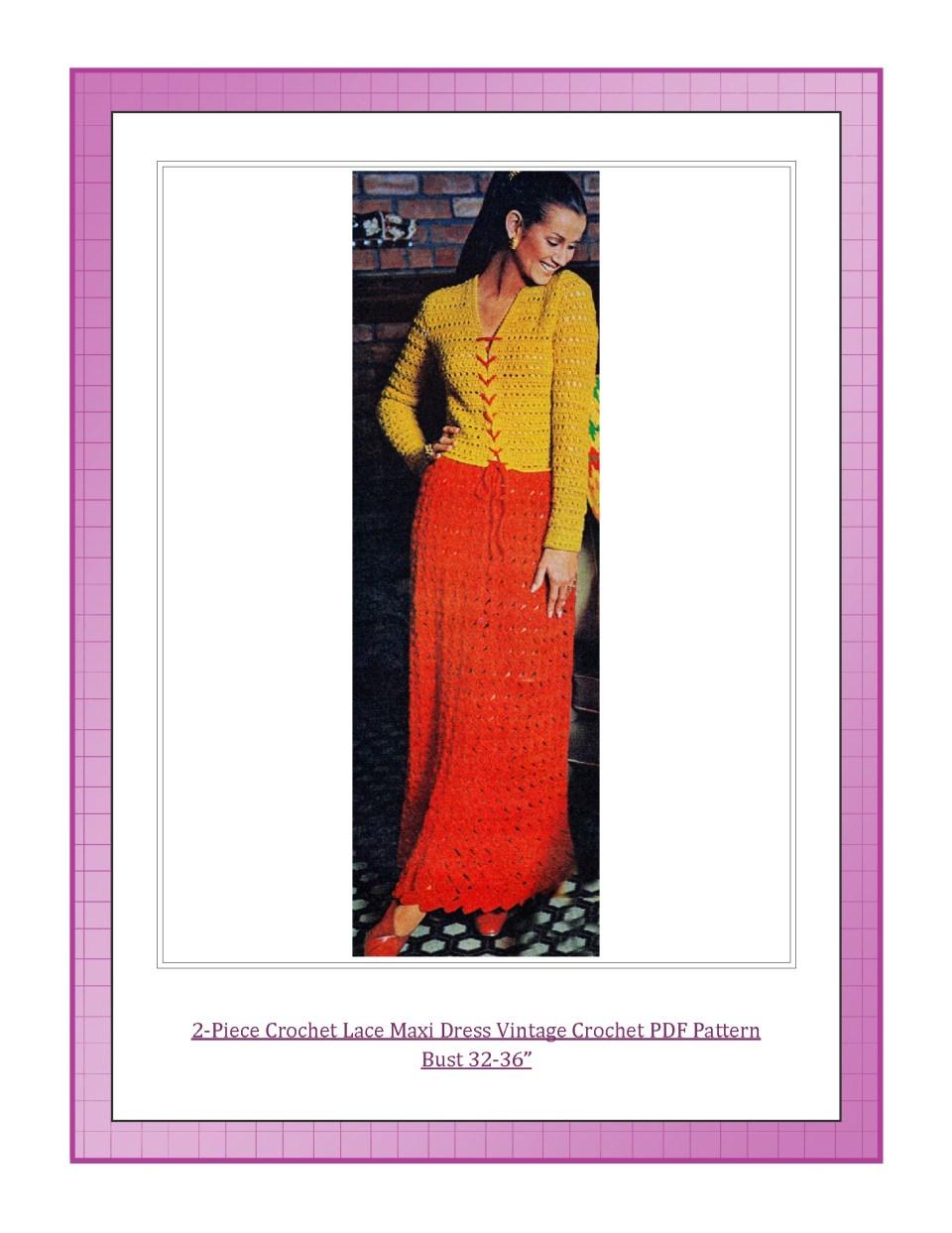 Dazespast Vintage Crochet Pdf Pattern 2019 Lookbook Vintage