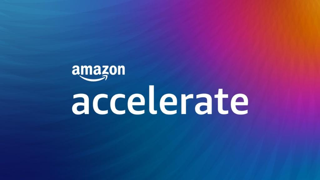 Amazon Accelerate graphic