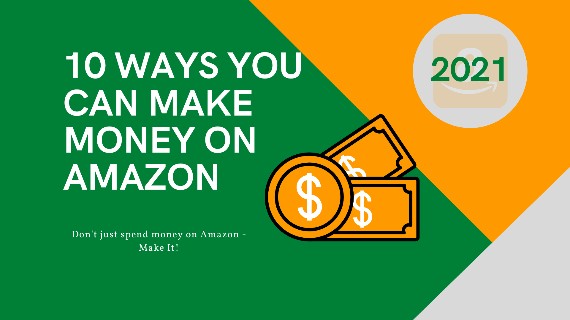 10 ways to make money on amazon in 2021