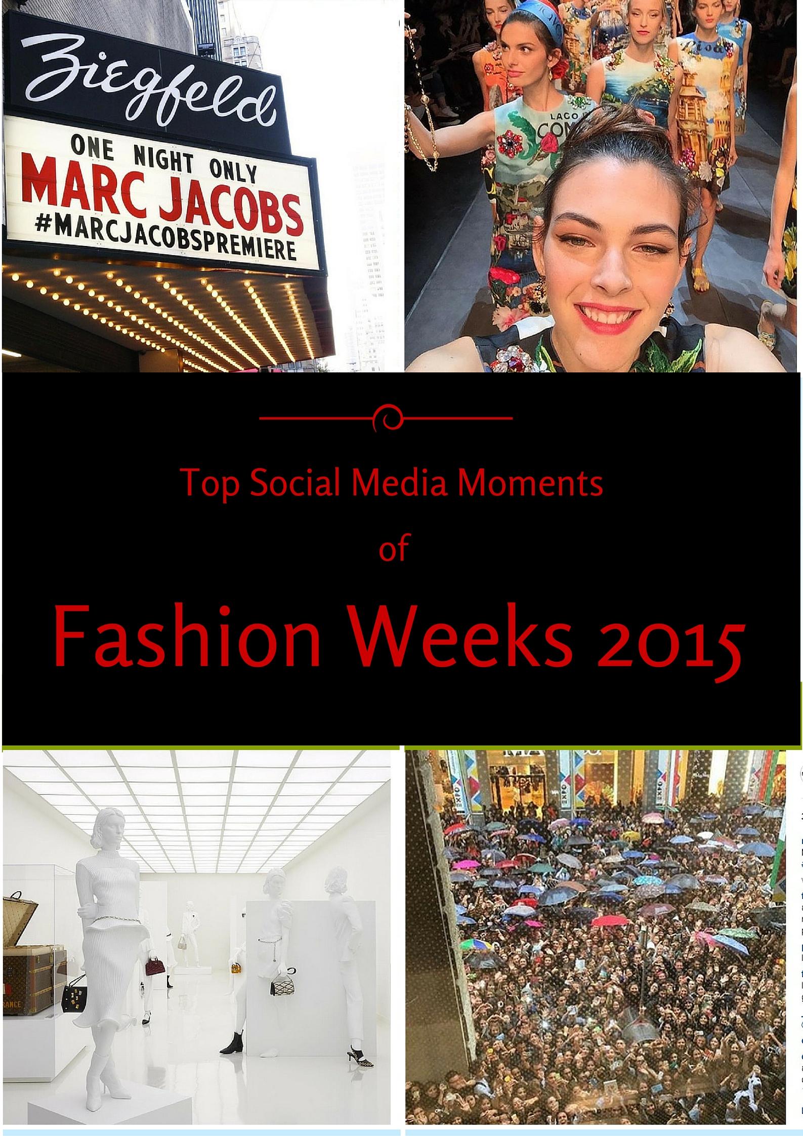 Fashion Weeks 2015