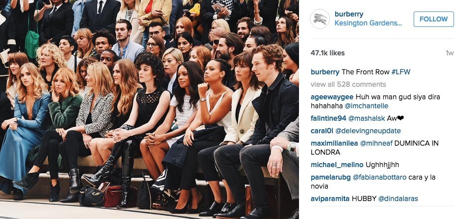 Burberry on Instagram