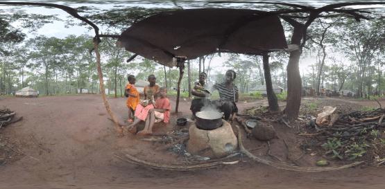 360 度全景 VR 布隆迪難民在坦桑尼亞視頻 - VR 虛擬實境數位雜誌