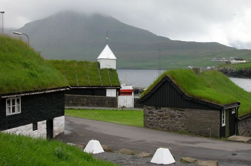 Green Roof - Faroe Islands