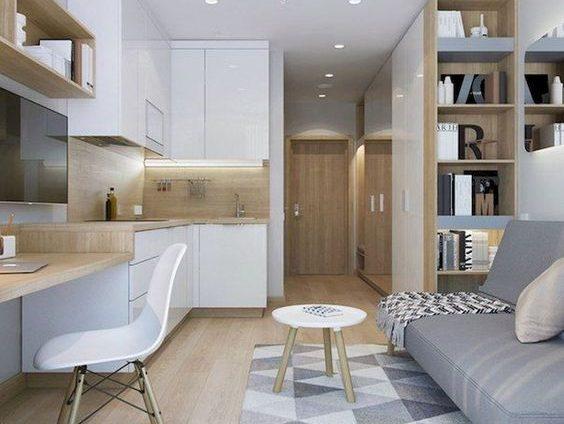Che si tratti di un soggiorno rettangolare piccolo o ampio,. Cucina E Living Open Space Blog Visioninterne
