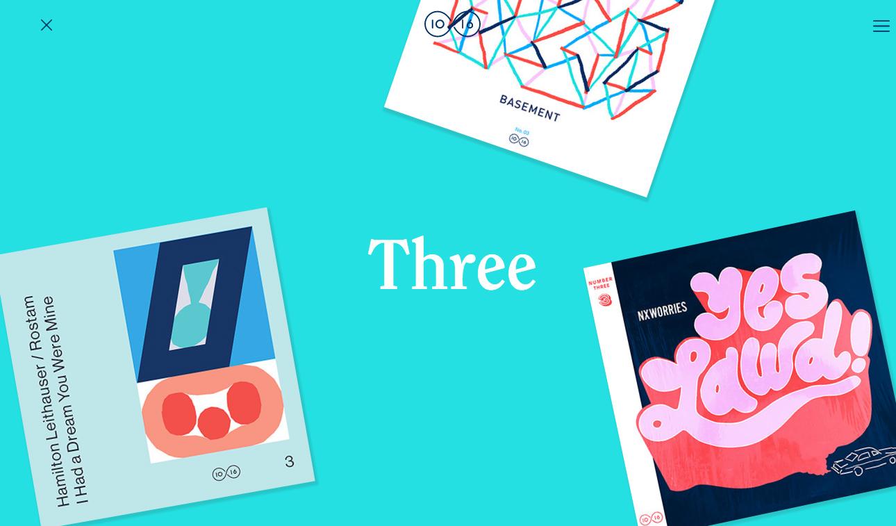 bright colors web design