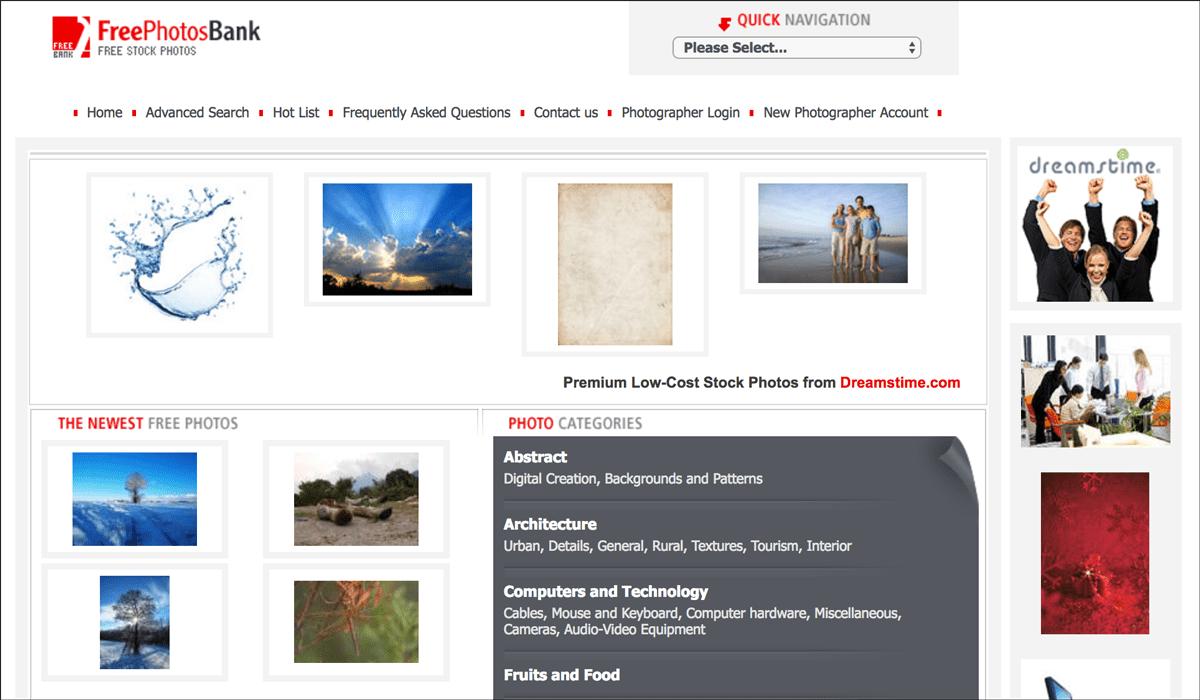 Free Photos Bank