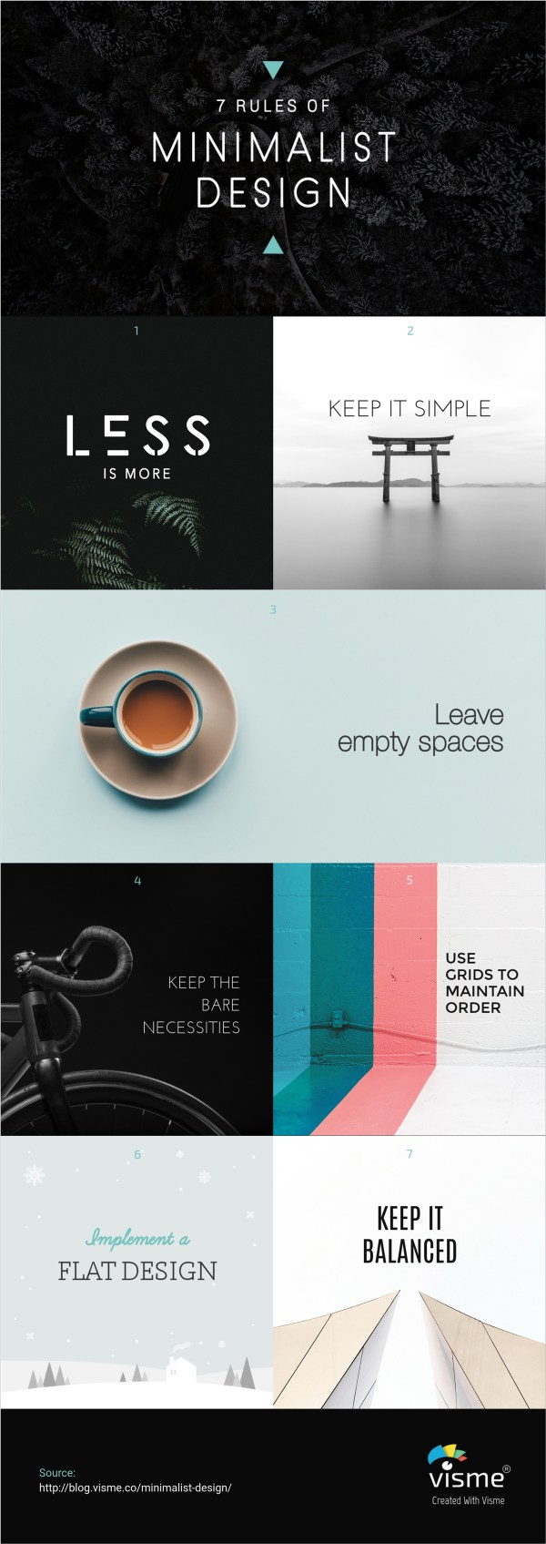 Minimalist Graphic Design 20 Examples Inspire Creations Visual Learning Center