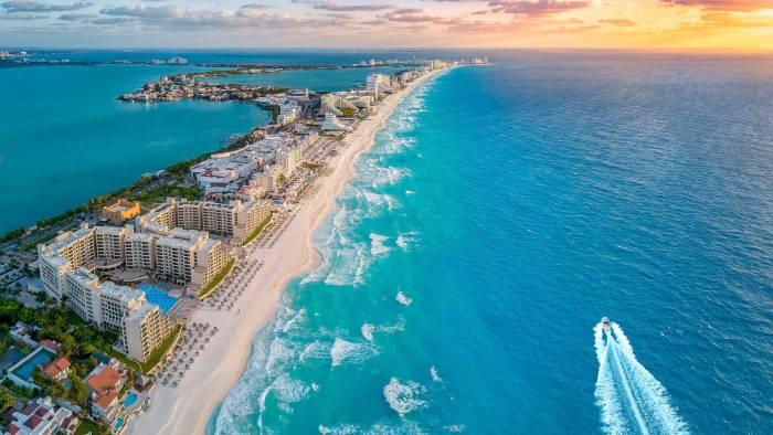 Cancun - Playa mas bonita de México