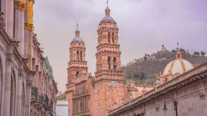 Catedral Centro Histórico - Lugares bonitos en Zacatecas