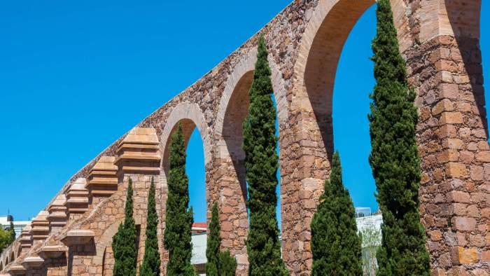 Lugares para visitar en Zacatecas Acueducto