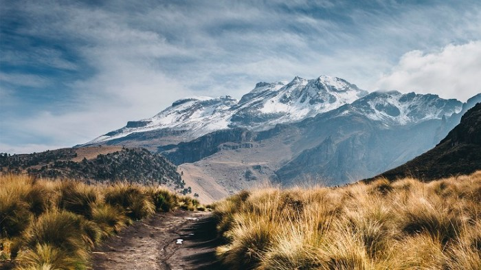 Pico de Orizaba con nieve
