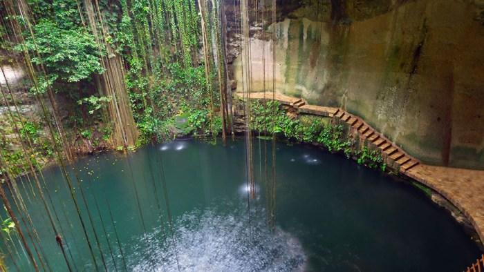 Cenote Il Kil en Yucatan
