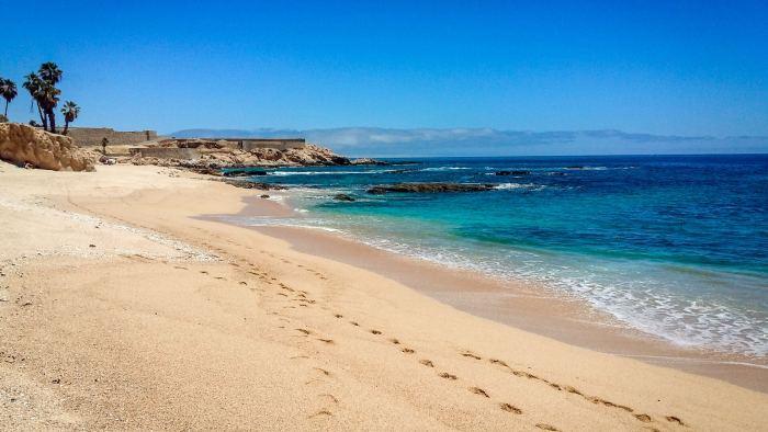 Playa Palmilla en Cabo San Lucas
