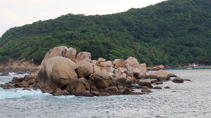 Isla Roqueta en Acapulco