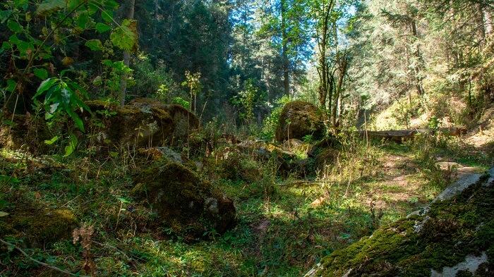 Lugares para acampar - Parque Natural Los Dínamos