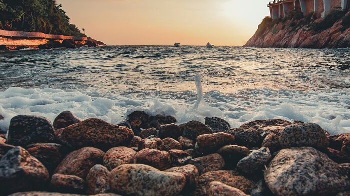 Playa la Angosta Acapulco