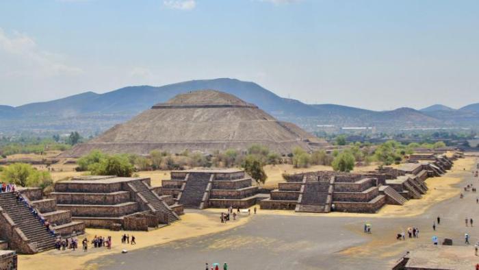 Zona Arqueológica en Teotihuacán