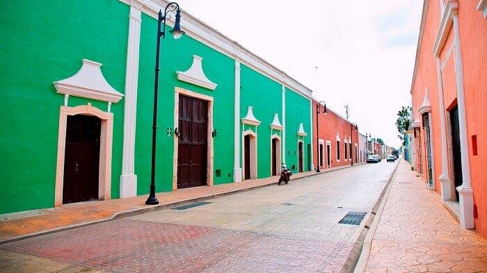 Calzada de los Frailes en Yucatán