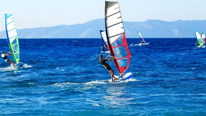 Windsurf en Puero Progreso